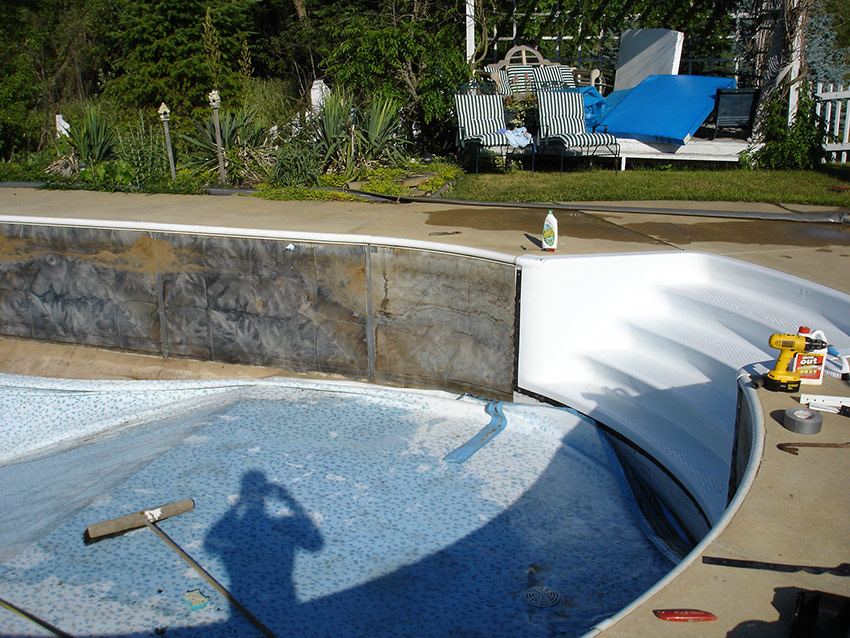 Inground Pool Renovations : Pool productions photo gallery